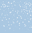 white snow vector image