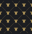 seamless pattern decor vector image