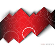 Abstract hi tech background vector image vector image