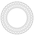 geometric circular pattern abstract motif with vector image