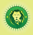 Lion symbol vector image