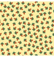 Seamless tiny floral pattern background vector image