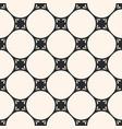 subtle seamless pattern circular grid vector image vector image