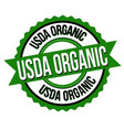 usda organic sign or stamp vector image