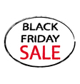 America Black Friday Sale sign stamp style vector image vector image