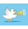 Bird With Horn vector image