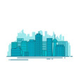 city with buildings vector image vector image