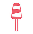 delicious popsicle isolated icon vector image