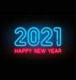happy new year 2021 new year and christmas vector image vector image