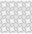 Seamless pattern of circular patterned spirals vector image vector image