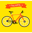 Bike Rental vector image vector image