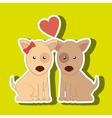 cute mascot design vector image vector image