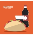 Food and Menu design vector image vector image
