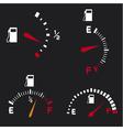 gas gauge vector image vector image