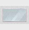 glossy screen vector image vector image