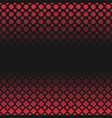 halftone geometric dot and square pattern vector image vector image