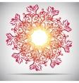 Mandala Beautiful vintage round pattern Hand vector image vector image
