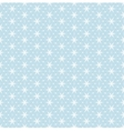 net lace with snowflakes vector image vector image