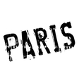 Paris stamp rubber grunge vector image vector image