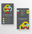 Set Of Modern Global Business Design Banner vector image vector image