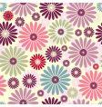 floral pastel pattern vector image