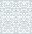 abstract swirly seamless lace pattern vector image vector image