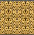 art deco semless pattern vintage decorative gold vector image