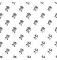 branch of chamomile pattern seamless vector image vector image