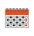 calendar business date appointment planning icon vector image vector image