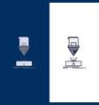cutting engineering fabrication laser steel flat vector image vector image