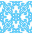 hipster snowflake pattern vector image