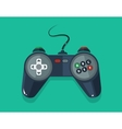 picture gamepad in flat style vector image