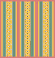 retro pastel colored pattern with stripes vector image