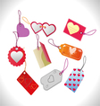 Shopping buy and sale label vector image vector image