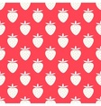 Strawberry summer pattern vector image vector image