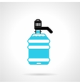 Water cooler bottle flat icon vector image