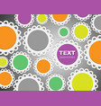 cute bright seamless pattern background bright vector image vector image