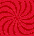 geometric spiral background from twisting rays vector image vector image
