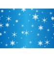seamless blue texture with snowflakes vector image vector image