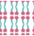 seamless pattern with beautiful vector image vector image