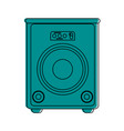 stage speaker icon image vector image vector image