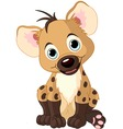 baby boy hyena vector image
