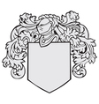 aristocratic emblem No18 vector image vector image
