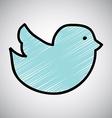 bird design vector image vector image
