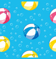 colorful seamless summer pattern with hand drawn vector image