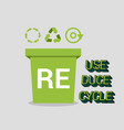 environmental protection flat concept vector image