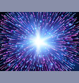 high speed abstract explosion background vector image vector image