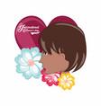 international womens day design vector image vector image