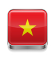 Metal icon of Vietnam