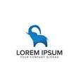 modern elephant logo design concept template vector image vector image